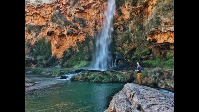 Фото водопад Крис
