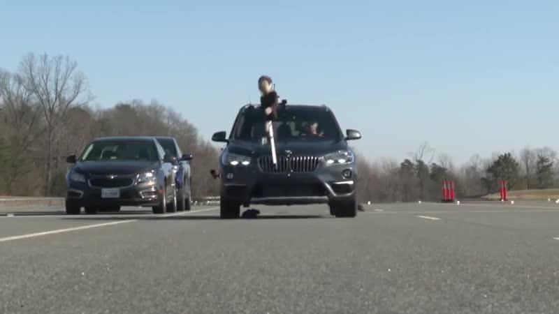 BMW pedestrian safety system scores a zero in IIHS testing