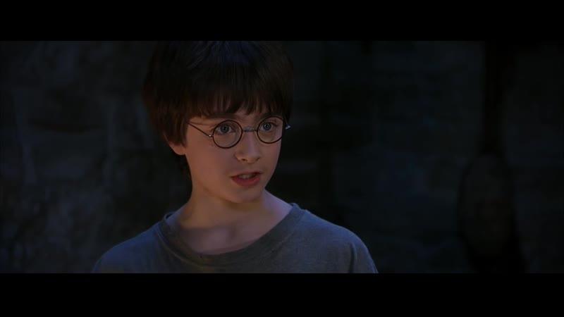Первое видео (Хагрид и Гарри)