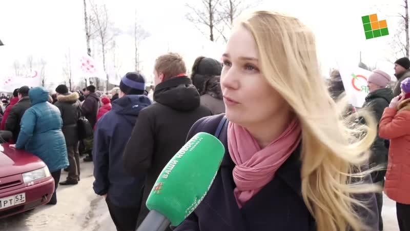 Митинг в Окуловке против оптимизации здравоохранения-5