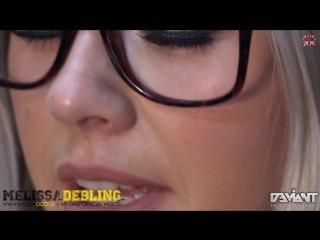 Melissa Debling Sexy Secretary Stockings Upskirt Big Tits