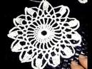 Вязание крючком. Урок 18. Круглый мотив цветок.