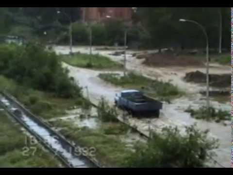 Наводнение в Новоуральске 1992г
