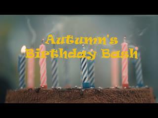 "Giantess autumn | ""autumn's birthday bash"" | foot crush, vore, food (trailer)"