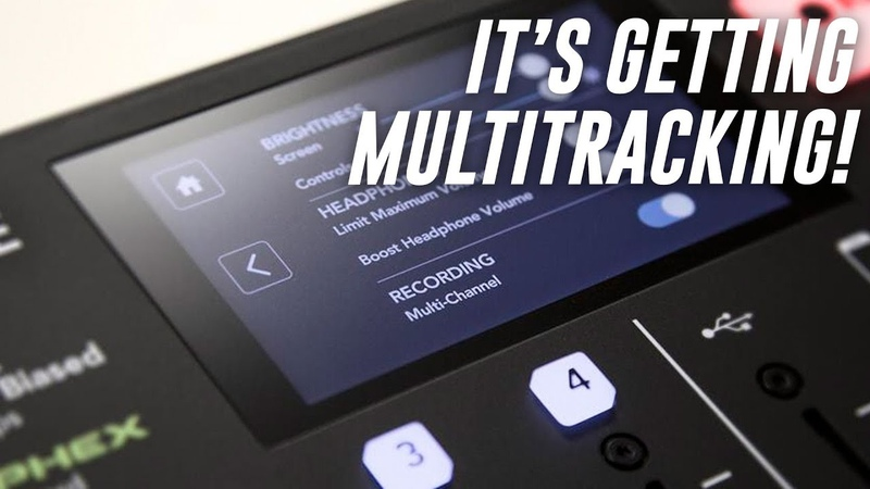 Rodecaster Pro Getting Multitrack!?