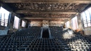 Whats left of Horace Mann school auditorium in Gary Indiana.