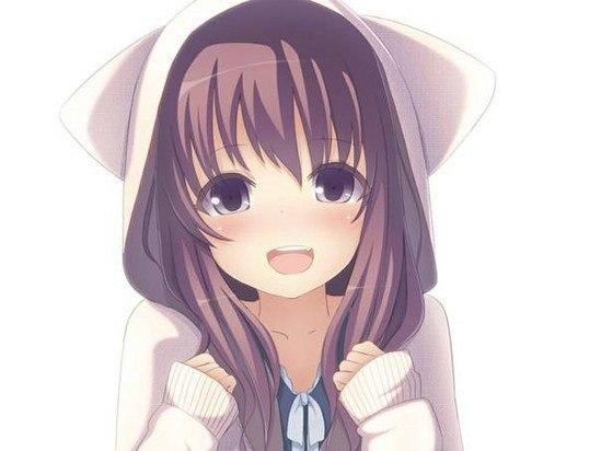 самые милые картинки аниме: