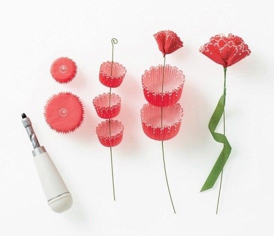 Искусственные цветы своими руками пошагово