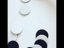 Черно белые Тактильные дощечки