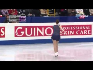 Jenna McCorkell - Short Program World Championships 2014