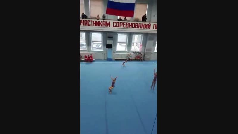 Кристина, Кира и Влада 3 взрослый (2 упр.)