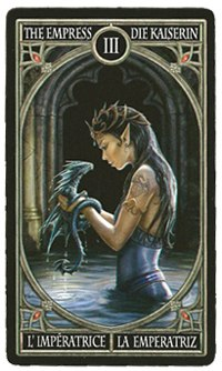 Anne Stokes Gothic Tarot HpGtH11FdkU