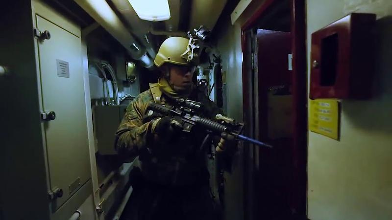 DFN:31st MEU MRF refines VBSS capabilities MARINE CORPS BASE HAWAII, HI, UNITED STATES 01.18.2019