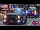 Police responding - BEST OF USA UK 2017 - Siren, horn action