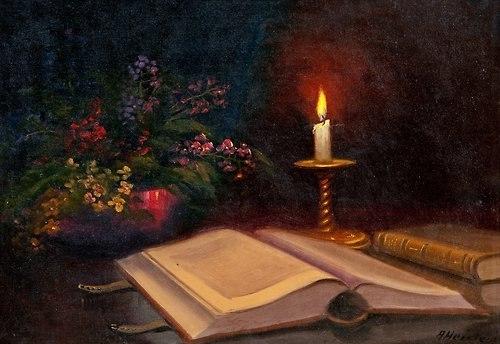 Книга — сказочная лампа, дарящая человеку свет на самых далеких и темных дорогах жизни.