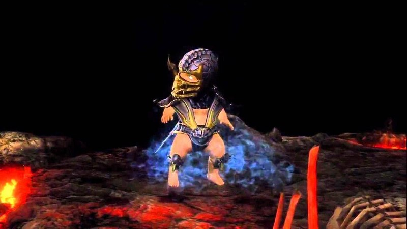 Mortal Kombat 9 .ВСЕ -fatality. babality. x ray