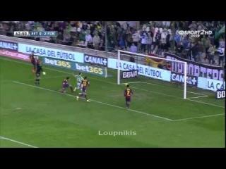 Бетис v Барселона 1-4. Обзор всех голов