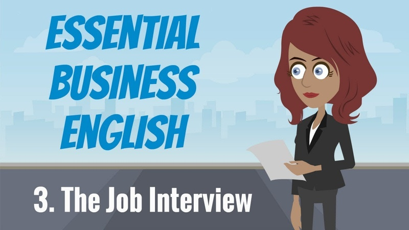 Essential Business English 3 — The Job Interview
