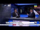 Кандидат в президенты Украины Ренат Кузьмин в эфире телеканала