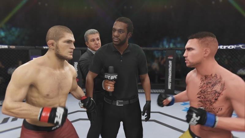 НУРМАГОМЕДОВ VS ЛОМАЧЕНКО бой в UFC