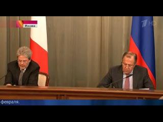 Лавров с министром Италии обсудил ситуацию на Донбассе 01.06.15 Новости Украины сегодня