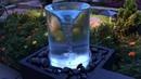 Adorno antejardin Remolino Agua Vortex Fountain