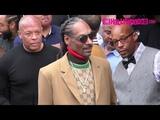 Dr. Dre, Snoop Dogg &amp Warren G Arrive To Snoop's Hollywood Walk Of Fame Ceremony 11.19.18