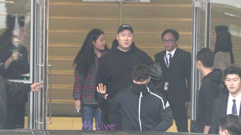 20181213 김종국 Kim Jong Kook Arrived Hong Kong Airport