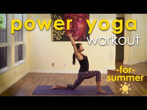 Power Yoga for Summer: Sweat it Out Cool it Down