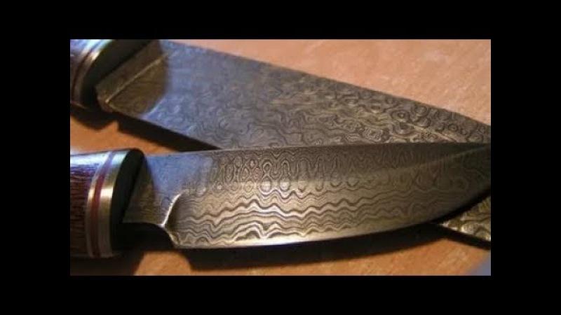 Традиции изготовления скандинавских охотничьих ножей из дамаска