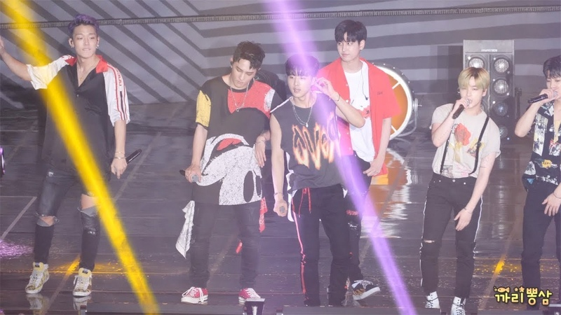 [4K]180804 iKON 아이콘 'MY TYPE' 취향저격 [직캠/Fancam] @ KB국민은행 리브콘서트 by 까리뽕삼