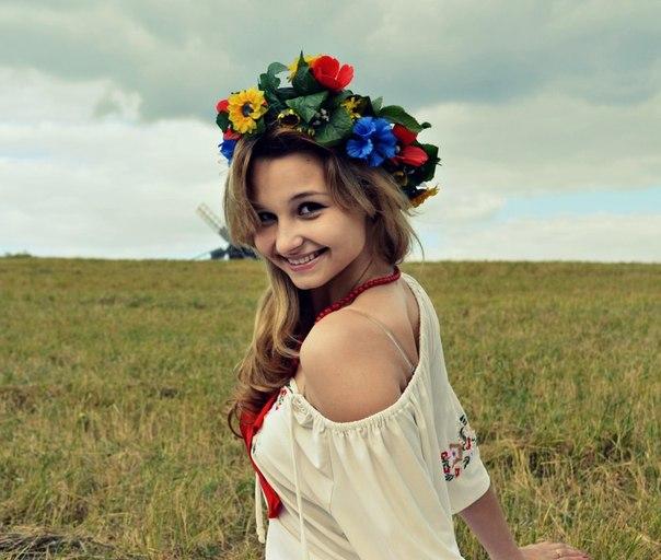 Красивая украинка видео