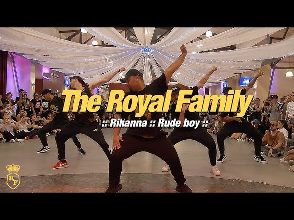 WGS CLASS VIDEOS :: THE ROYAL FAMILY Workshop 2 (Rihanna - Rude Boy)