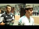 Rizvan Utsiev i Dokuev Magomed bought a T-shirt in fan-shop of FC Terek