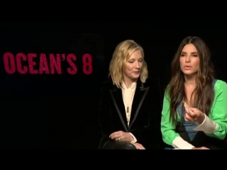 Сандра Буллок и Кейт Бланшетт говорят о Рианне