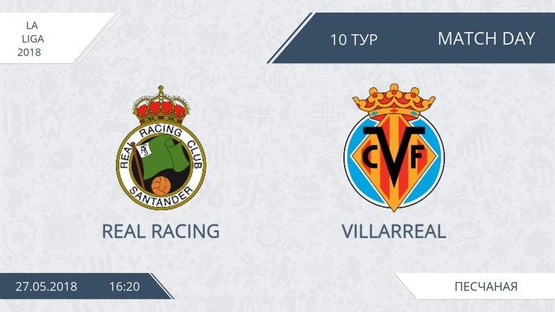 AFL18. Spain. Primera. Day 10. Real Racing - Villarreal.