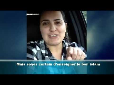 LIslam nest pas une race - Témoignage dune ex-musulmane
