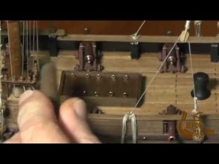 Изготовление модели парусника, Фильм 3, 6-я серия. Сайт
