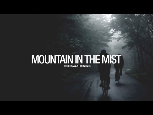 Riders way Mountain in the mist
