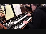 Ricky Peterson feat. by WDR BIG BAND - Full House _ Rehearsal