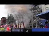 Русские туристы во время теракта в Бостоне (выложенное ещё год назад(!)