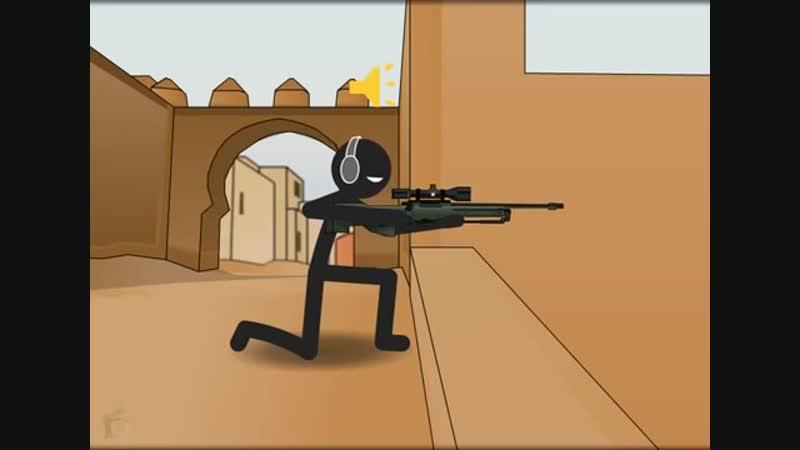 Counter Strike Animation - De_Dust 2