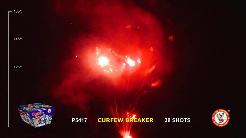 P5417 CURFEW BREAKER 38'S WINDA FIREWORKS