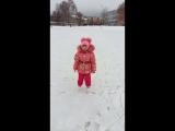 Ангелина. Зимние развлечения