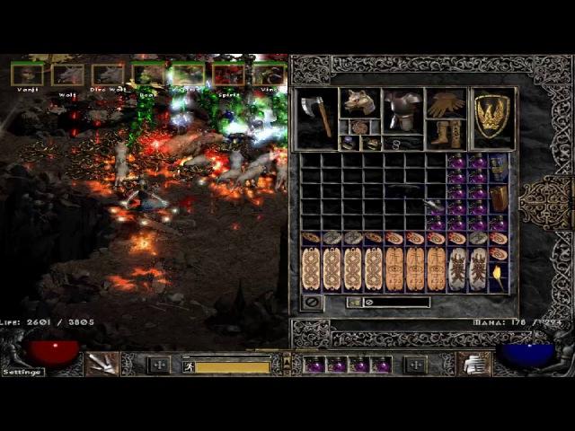 Path of Diablo - Druid - Diablo Clone (Outdated, see description)