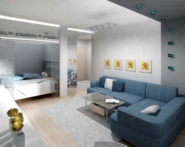 квартиры-студии дизайн фото