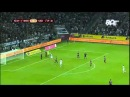 74' Thorgan Hazard - pen | UEFA Europa League: FC Borussia Mönchengladbach - FK Sarajevo 5:0