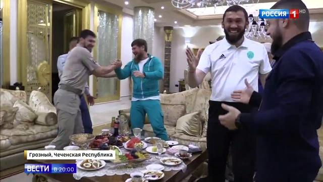 Вести в 20 00 Египтян утешит чеченское гостеприимство