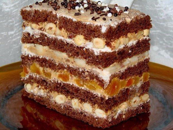 Торт из готовых коржей ?