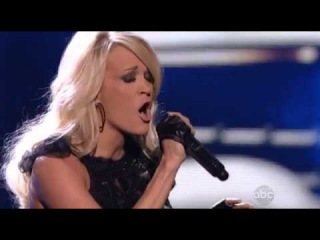 Carrie Underwood - Two Black Cadillacs - American Music Awards 2012 (Live)